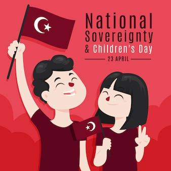 Soberanía nacional turca y día del niño