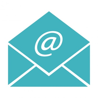 Sobre de email abierto