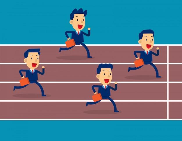 Socios comerciales competencia de equipo