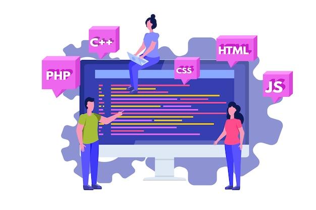 Software de programación o desarrollo de aplicaciones, procesamiento de big data.
