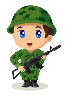 Soldado chibi