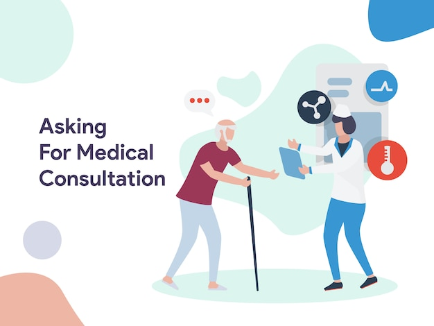 Solicitando consulta médica