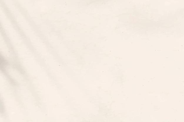 Sombra estética beige sobre fondo de textura