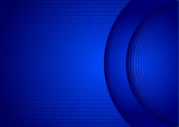 Sombra de tecnología de diseño abstracto azul backgorund