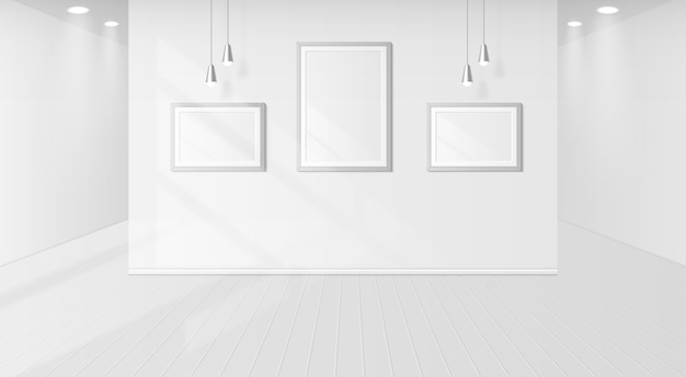 Sombra de ventana en una habitación blanca