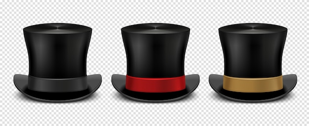 Sombrero de copa realista