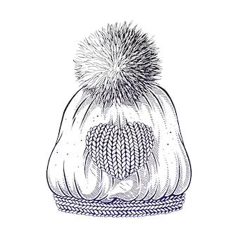 Sombrero de invierno.