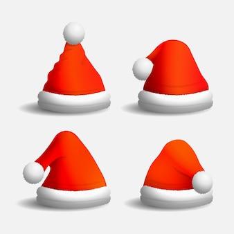 Sombreros de personajes realistas para navidad