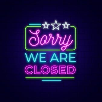 Somos diseño de cartel cerrado