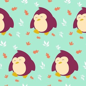 Sonrisa de animales de patrones sin fisuras vector illustration