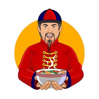 Sopa de pescado chino