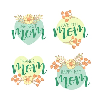 Sorteo de colección de etiquetas del día de las madres