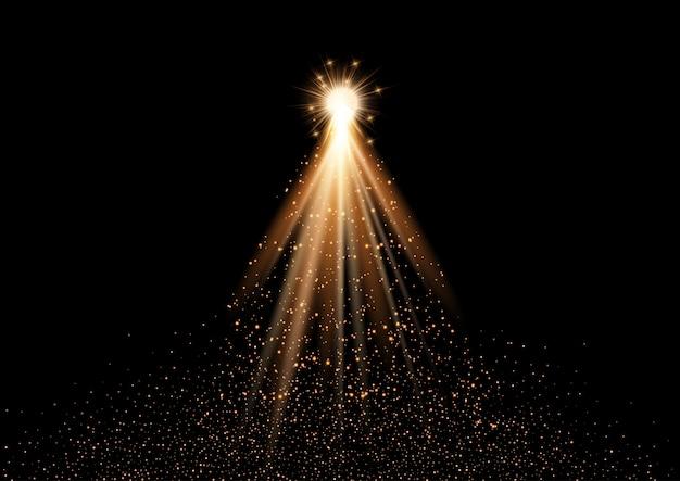 Sparkle diseño de árbol de navidad