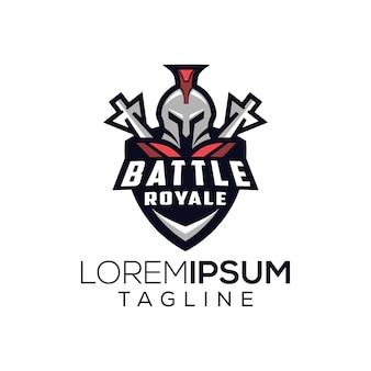 Spartan battle royale logo