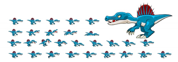 Spinosaurus animal para juego