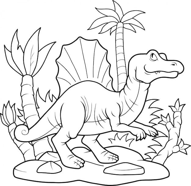 Spinsaur de dinosaurio