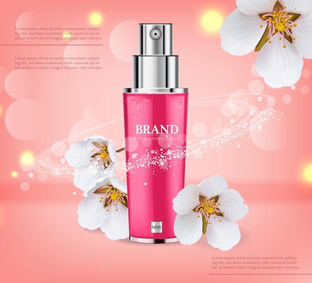Spray de flor de cerezo