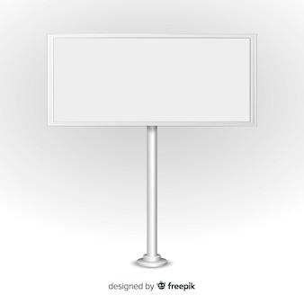 Stand moderno con diseño realista