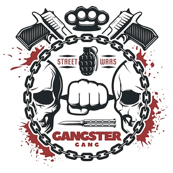 Street gang wars print