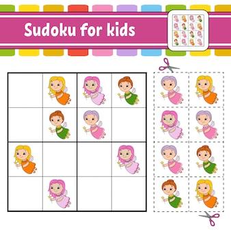 Sudoku para niños.