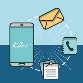 Icono correo telefono fotos y vectores gratis for Telefono oficina de correos