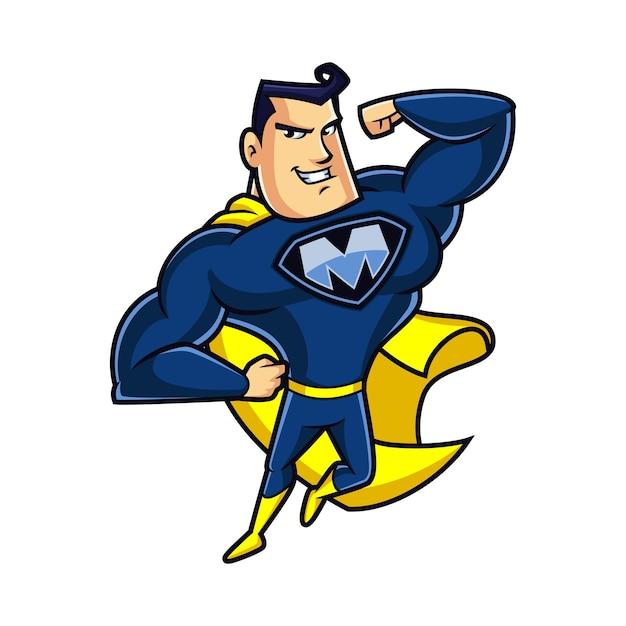 Super mighty mascot design