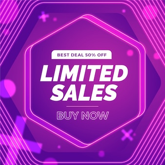 Super venta resumen fondo violeta
