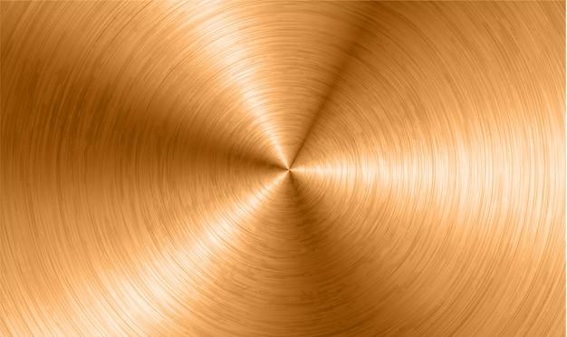 Superficie de bronce