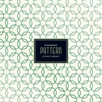 Superposición de círculos de línea de diseño de patrones sin fisuras