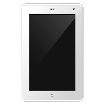 Tablet pc blanca