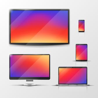 Tableta y laptop