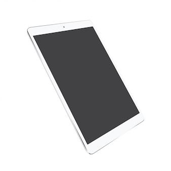 Tableta con pantalla en blanco