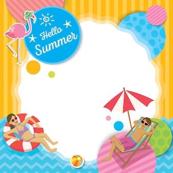 Tamplate de verano