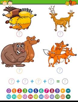 Tarea matemática para preescolares