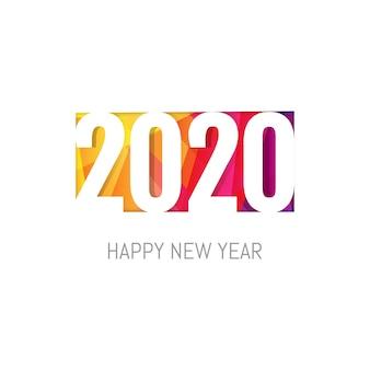 Tarjeta de año nuevo con figura