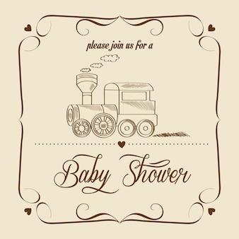 Tarjeta de baby shower