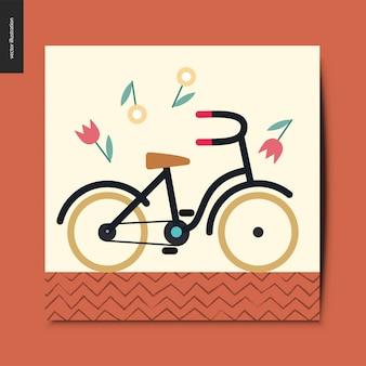 Tarjeta de bicicleta