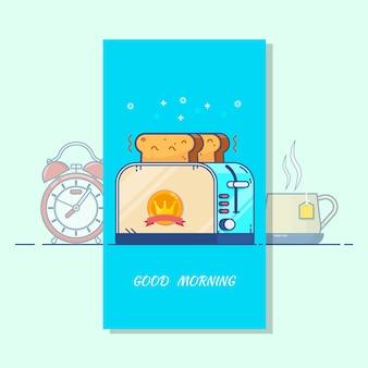 Tarjeta de buenos días