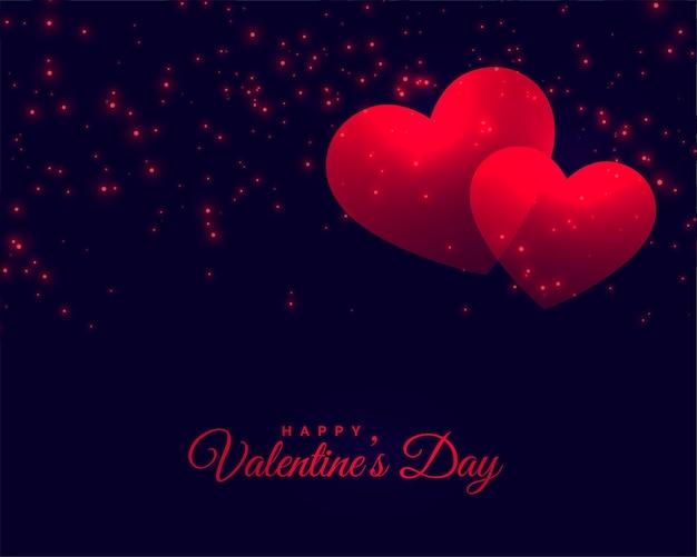 Tarjeta de celebración del día de san valentín