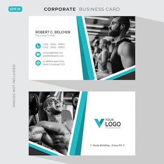 Tarjeta corporativa de fitness