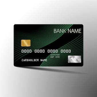 Tarjeta de crédito verde