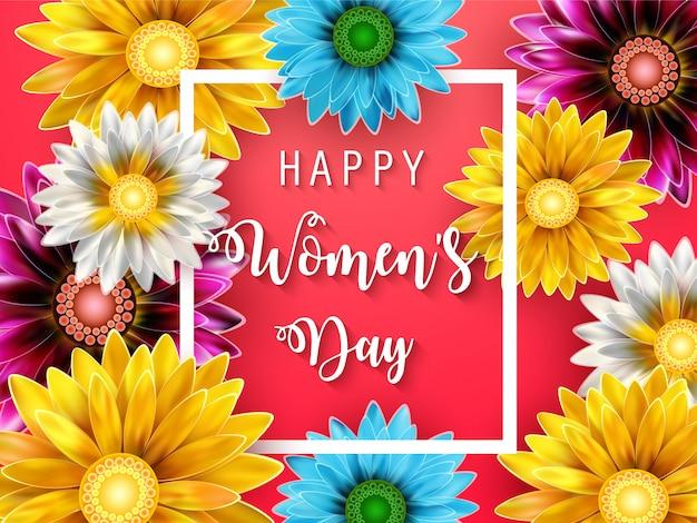 Tarjeta del día de la mujer