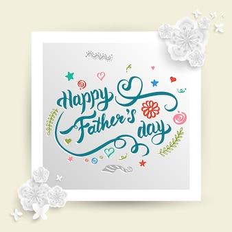 Tarjeta del día del padre
