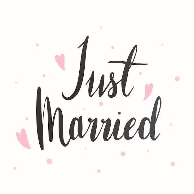 Tarjeta de felicitación de boda