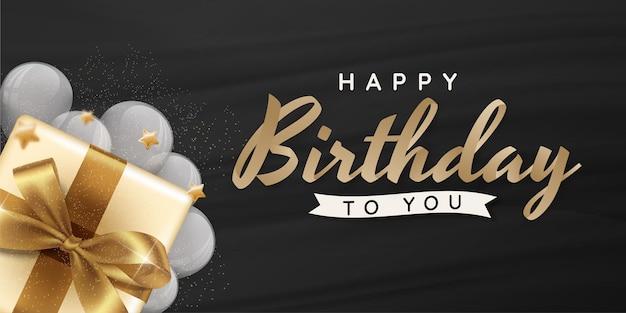 Tarjeta de felicitación de cumpleaños feliz 01