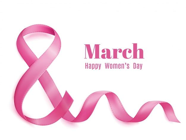 Tarjeta de felicitación del día 8 de marzo de las madres.
