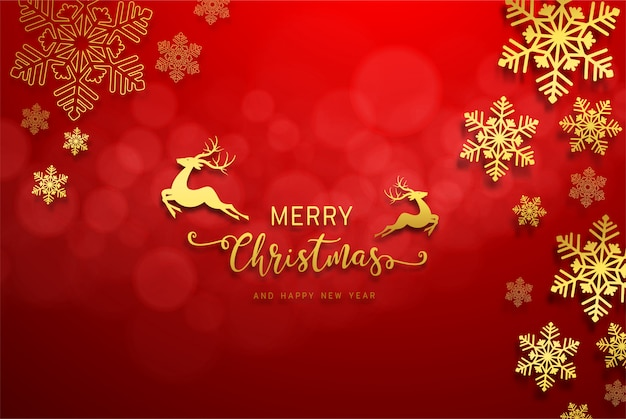 Tarjeta de felicitación de feliz año nuevo 2020 y feliz navidad.