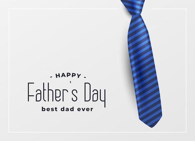 Tarjeta de felicitación feliz día del padre