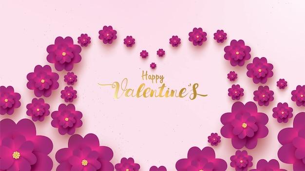 Tarjeta de felicitación feliz día de san valentín