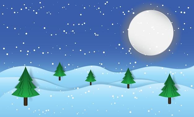 Tarjeta de felicitación navideña. letras de feliz navidad